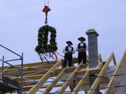 Richtfest Gemeindehaus Rohr